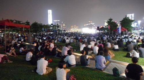 04三日目香港の学生運動