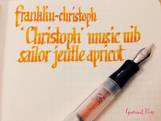 "Review: Franklin-Christoph ""Christoph"" Music Nib @1901FC"