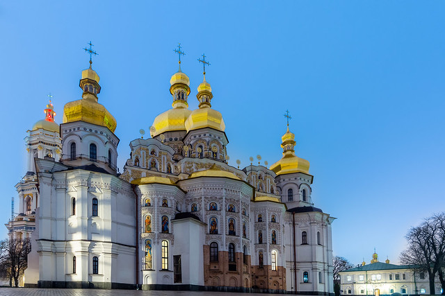 Cathedral of the Holy Dormition,  Kiev Pechersk Lavra (Unesco world heritage)