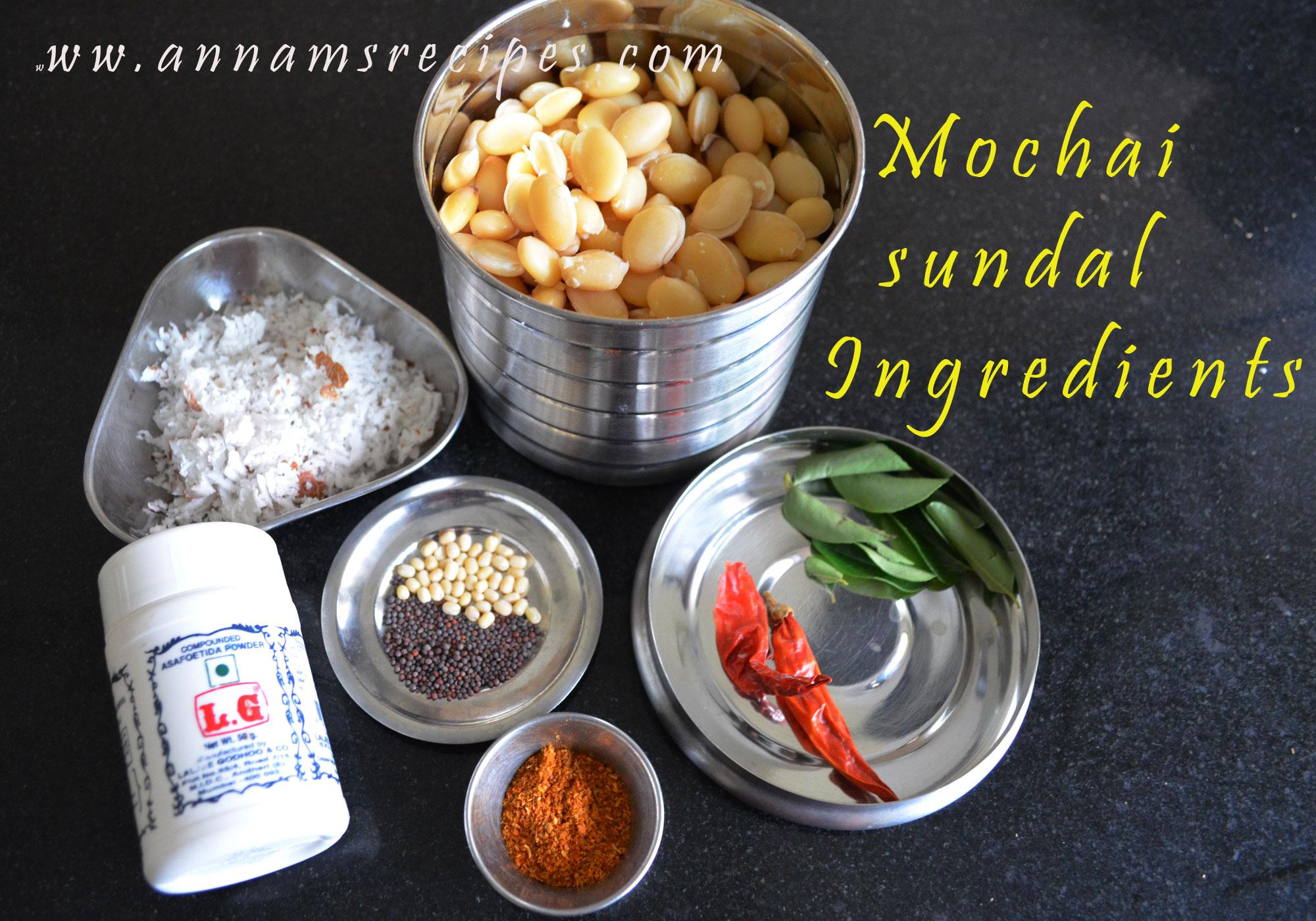 Mochai Sundal