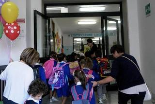 Noicattaro. Inaugurazione scuola Gramsci-Pende 14-15 front