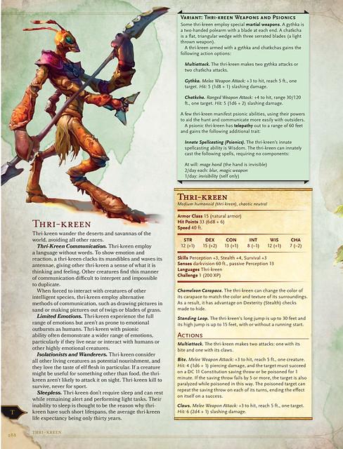 Thri-Kreen Preview