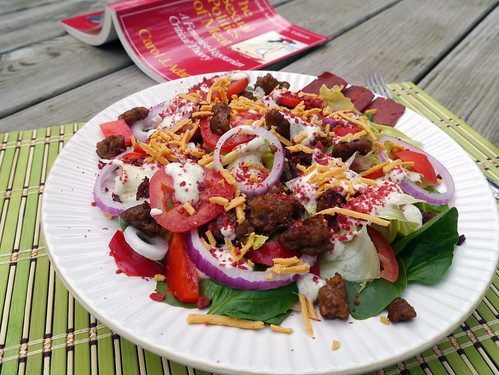 Carbs & Rec - Double Bacon Cheeseburger Salad (0004)