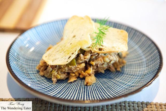 Jordi's homestyle chickpea and tuna salad