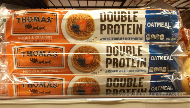 Thomas Double Protein English Muffins