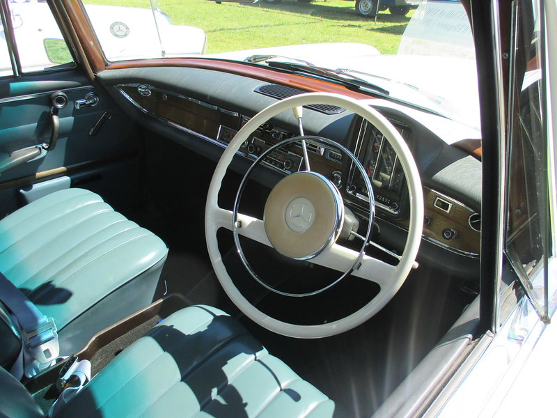 Mercedes steering wheels of the 60's