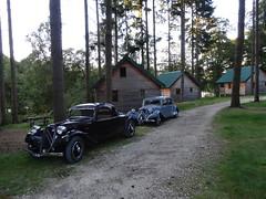 80 Jahre Citroen Traction Avant 2014 La Ferte-Vidame 706 Camping Huttopia Senonches