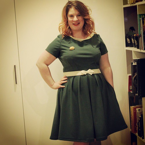 On the blog tonight: Simplicity 2444 in ponte #sewing #sewcialists