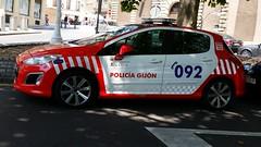 Peugeot Policía Gijón