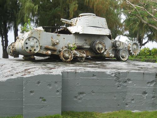 saipan mariana islands japanese bunker tank pillbox worldwarii kummerle