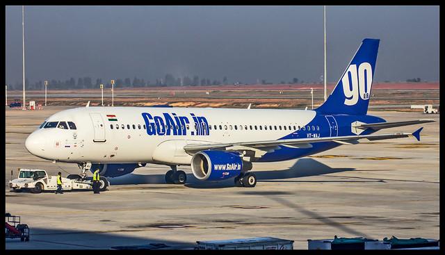 Go Air Airbus A320 VT-WAJ Bangalore (BLR/VOBL)