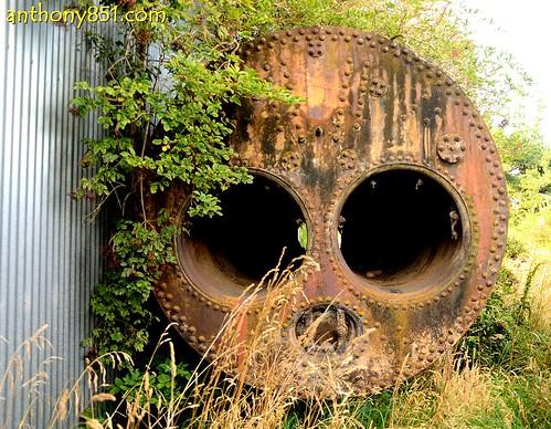 Rusting Boiler