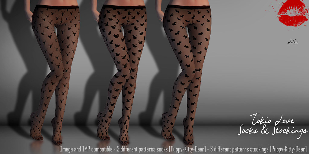 LOLLA - Tokio Love - Socks & Stockings - SecondLifeHub.com