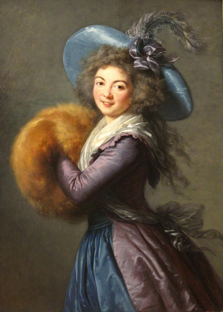 Portrait of Madame Mole-Raymond by Élisabeth Vigée-Lebrun, 1787