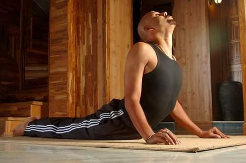 Bhujangasana by Yoga Guru Suneel Singh