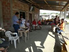 La Comunidad Chonta Uno de la Parroquia Eloy Alfaro de Chone recibió vida Jurídica