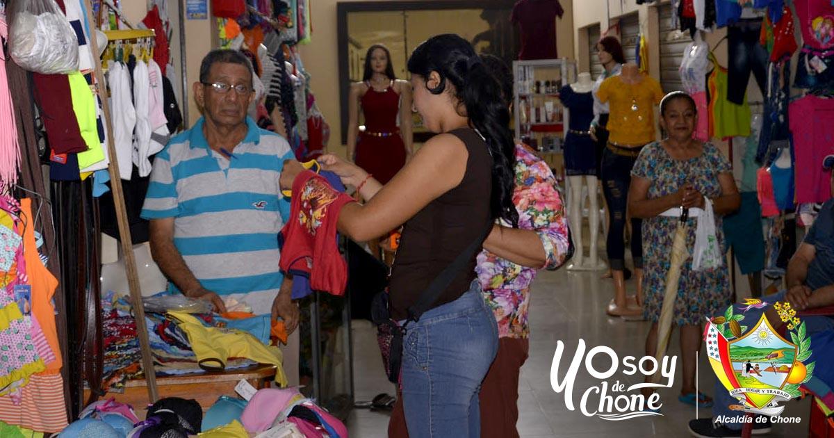 Comerciantes bahía 15 de Noviembre en Pasaje San Cayetano preparan ventas por la Semana Santa