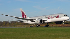 Qatar Airways Boeing 787-8 A7-BDC