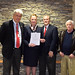 April 4, 2017. Safe Haven Day at L+M Hospital. Rep. McCarty holds the 2015 bill that established April 4th as Safe Haven Awareness Day.