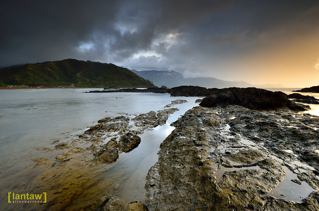 Rainy Sunrise in Dingalan Bay