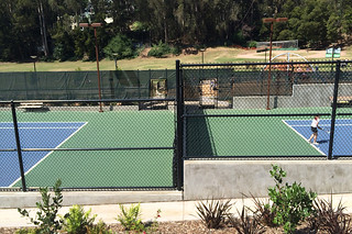 Glen Park Recreational Center - Tennis courts
