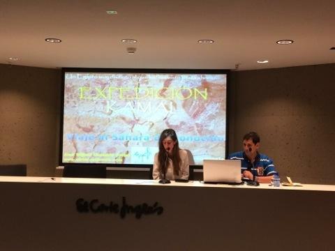 Charla en El Corte inglés de Callao (Madrid)