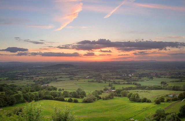 Edited Crickley Hill Sunset