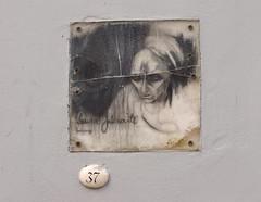 54 vilnius Literatų gatvė project Plaque 37