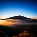 Sunrise sur le piton de la fournaise - Ile de la Réunion.