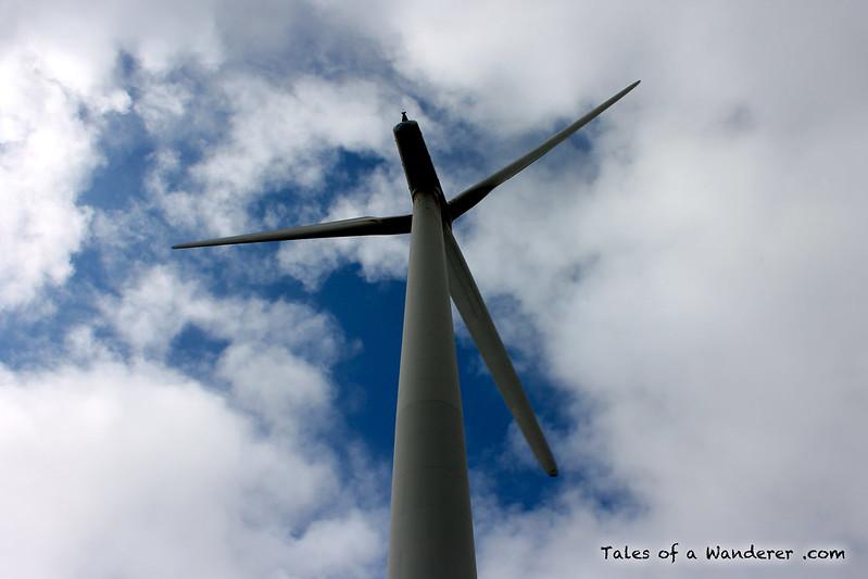 CAMARIÑAS - Parque eólico Peña Forcada