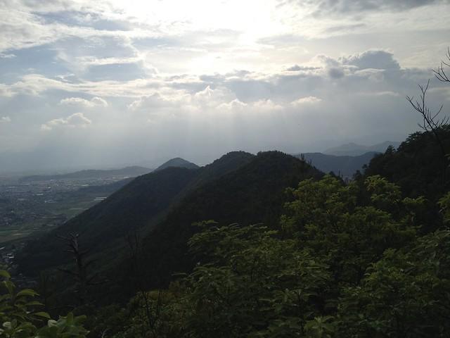 城ヶ峰〜石谷縦走路より石谷