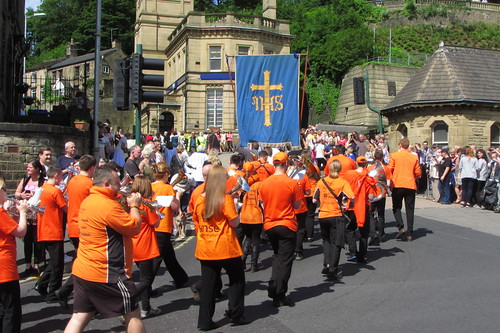 'Orange Band' Name Unknown, Manchester Road, Mossley