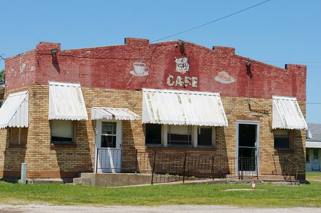 Cafe - Route 66, Litchfield, Illinois