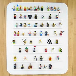 Iron Craft '14 Challenge #12 - Lego Minifig Wall Display