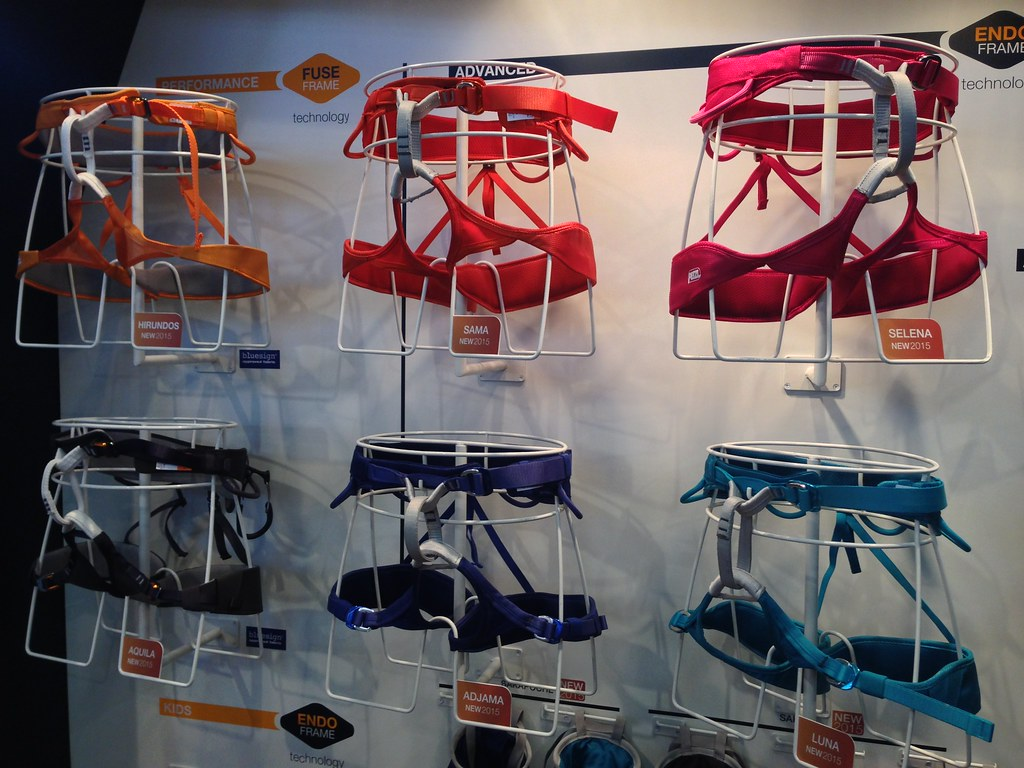 Petzl harness line-up 2015