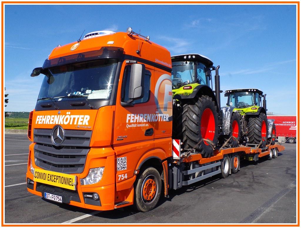 mercedes actros 2642 mp4 fehrenk tter transport logistik gmbh ladbergen d a photo on. Black Bedroom Furniture Sets. Home Design Ideas