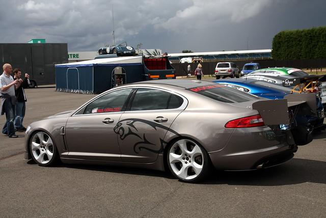 Jaguar XF Bonneville.