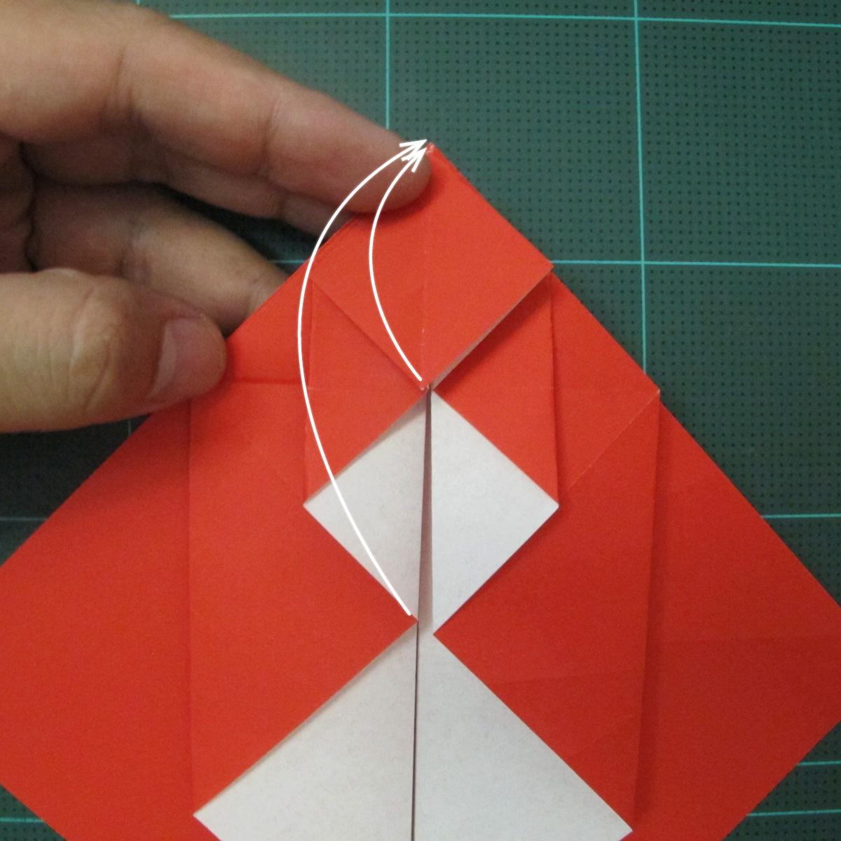 การพับกระดาษเป็นรูปสัตว์ประหลาดก็อตซิล่า (Origami Gozzila) 015