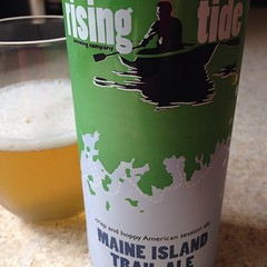 Hoppy, citrusy, light #maine #beer #microbrew