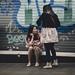 Two girls by Irene Ruscalleda