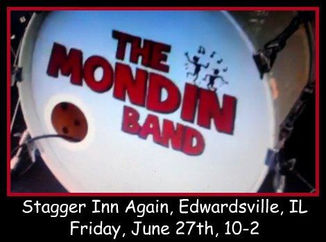 MONDIN BAND 6-27-14