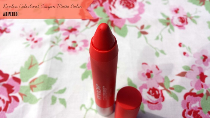 Revlon Colorburst Crayon Matte Balm Audacious