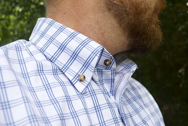 Mood Fabrics Italian Cotton Check shirting