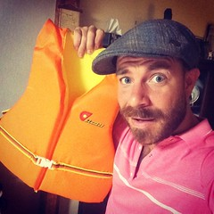 Can\'t believe used to fit into this #lifevest when I was a kid!
