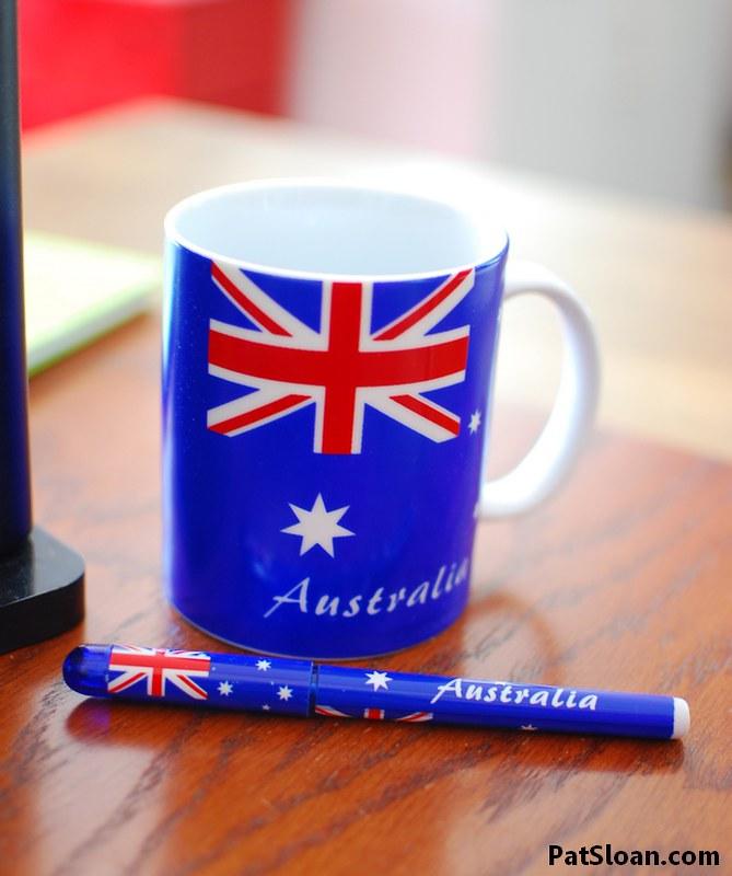 Pat Sloan australian mug