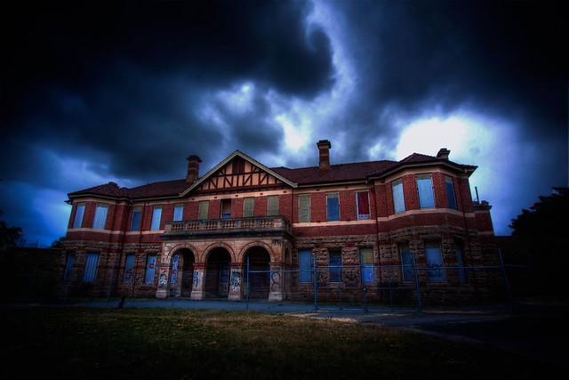 Mount Claremont abandoned mental hospital