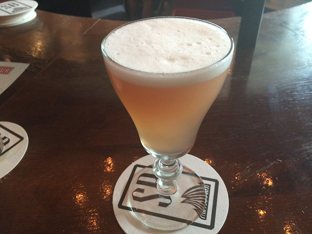 Picasso Fizz cocktail - Stoneburner
