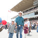 Justin, Xavier and Ella-Grace visit the Calgary Stampede grounds. July 2014.