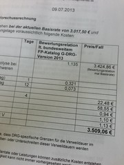this is how much an appendectomy costs in germany