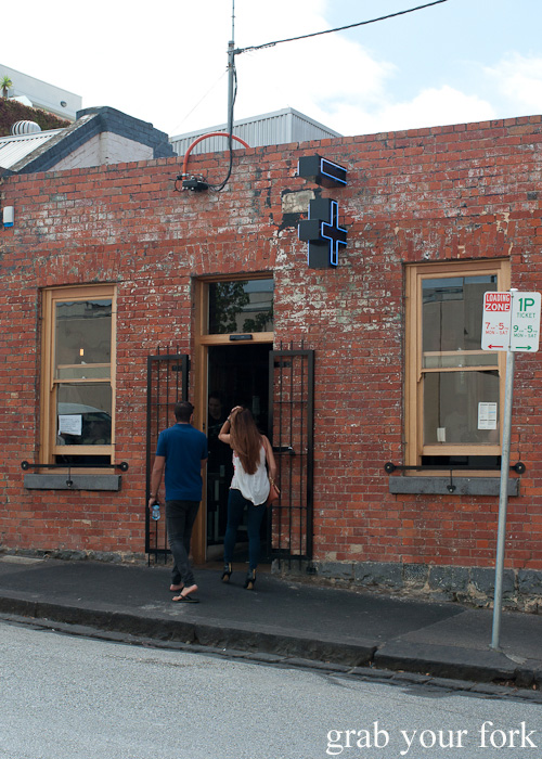 Entrance to Jimmy Grants, Fitzroy, Melbourne
